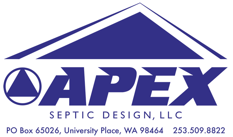 apex septic design pierce kitsap mason thurston and