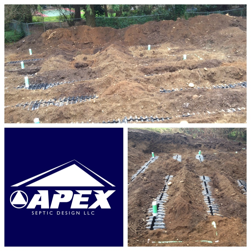University Place Gravity Flow Septic System Apex Septic
