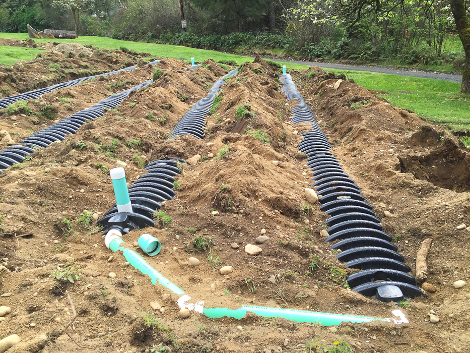 Gravity septic design in silverdale apex septic design llc for Gravity septic system design
